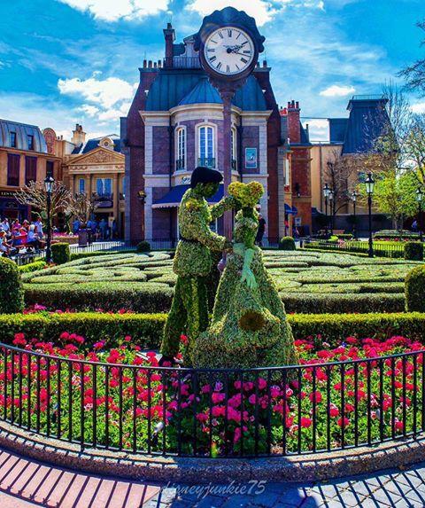 Epcot Flower and Garden Festival Disney World