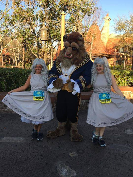 2017 Disney Princess Half Marathon Costumes, Run Disney