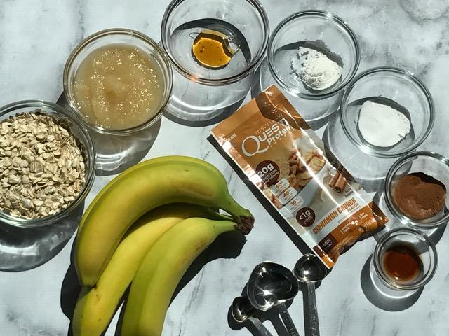 Easy Protein Muffins, Protein Blender Muffins