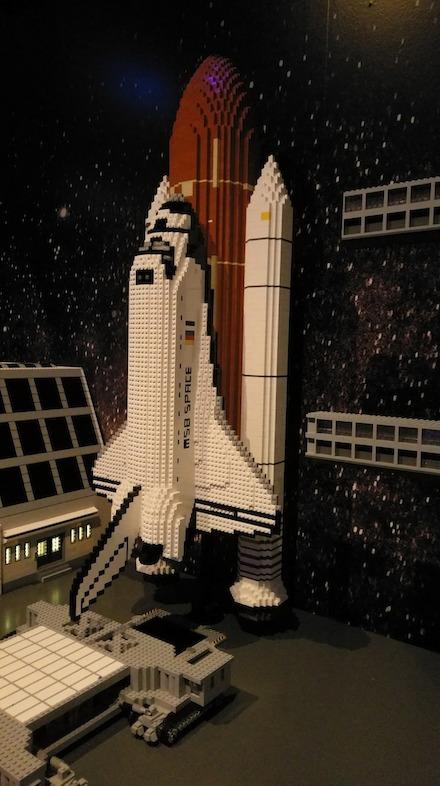 LegoLand Atlanta Mission Space Exhibit