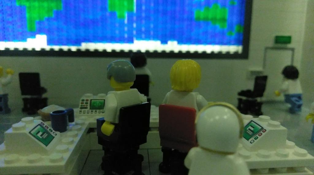 LegoLand Mission Space Exhibit