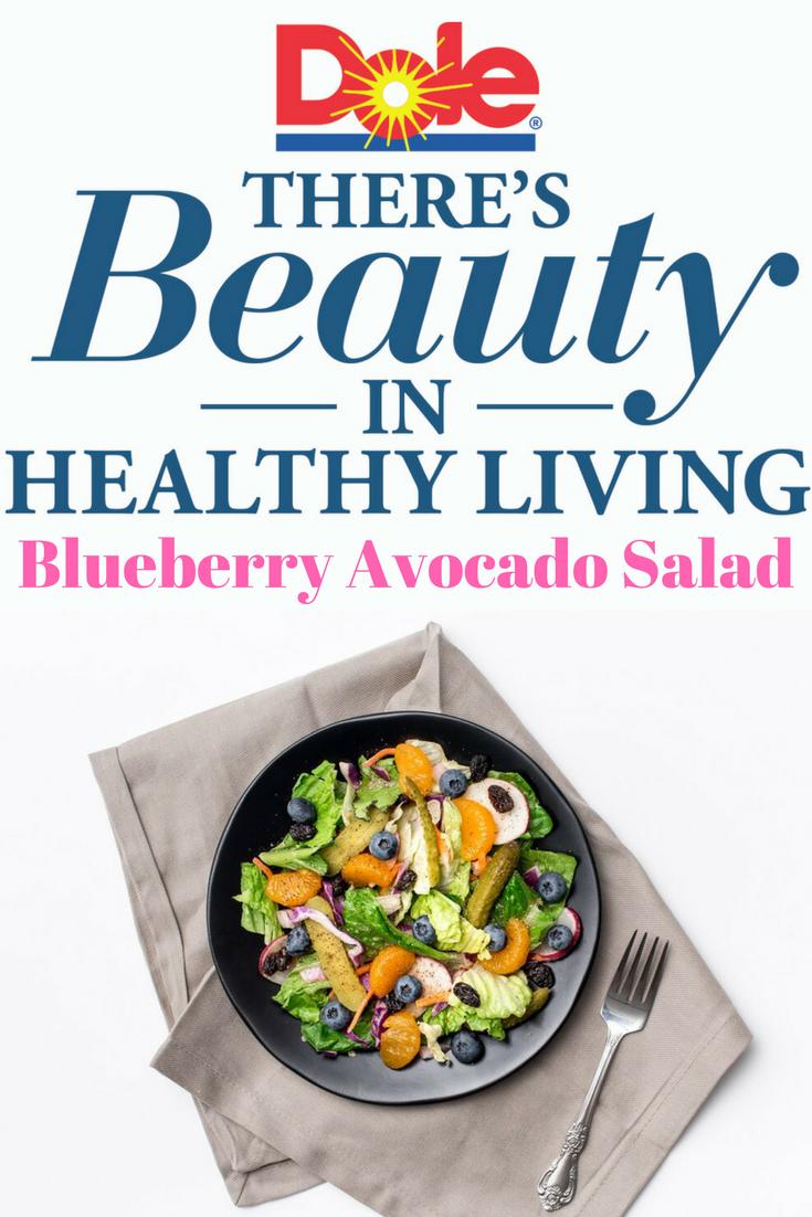 Blueberry and Avocado Salad recipe, Salad recipe, Healthy Salad Recipe