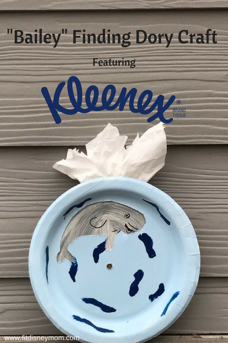 Finding Dory themed craft, Finding Dory craft, Bailey from Finding Dory, Craft for Preschoolers