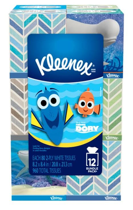 Finding Dory Kleenex Boxes