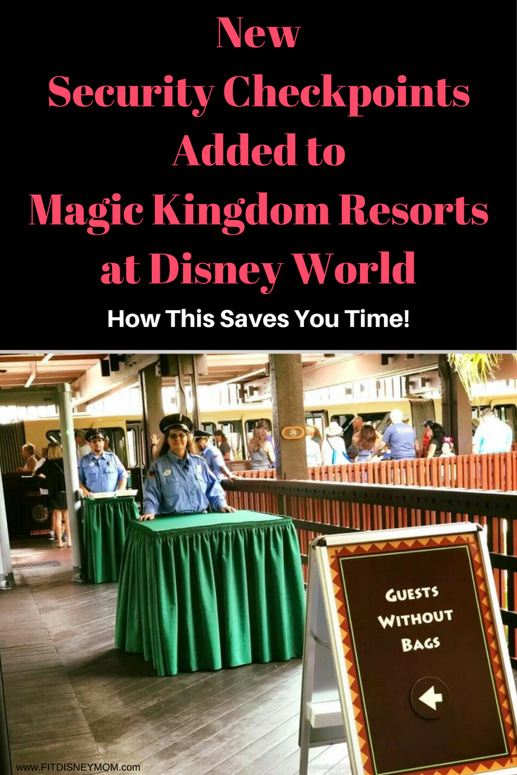 Security Screening at Magic Kingdom Resorts, Disney Security at Monorail Resorts