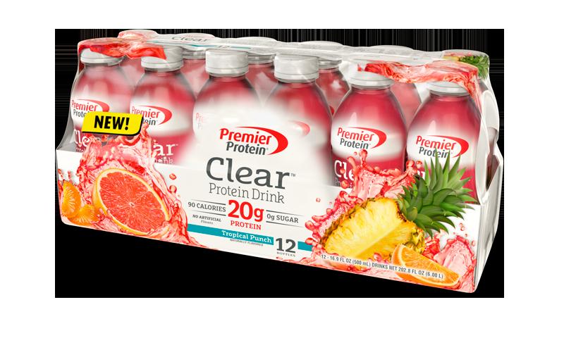 Premier Protein Clear, Premier Protein Clear Recipe, Healthy Summer Drink Recipe