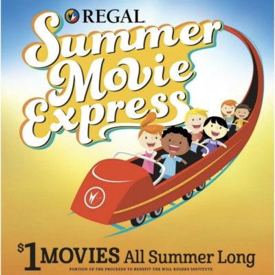Regal Summer Movie Express Schedule | $1 Kids Movie