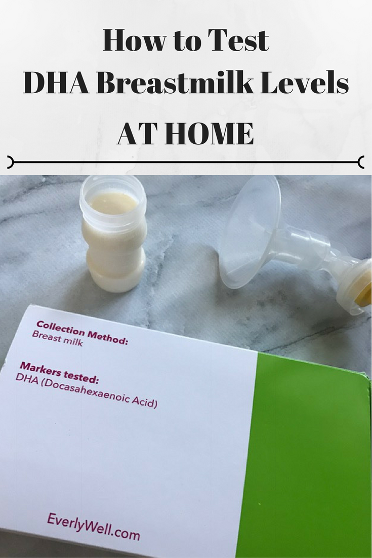 DHA Testing, How to test for DHA in Breastmilk, At home DHA Breastmilk Test, Everlywell Review