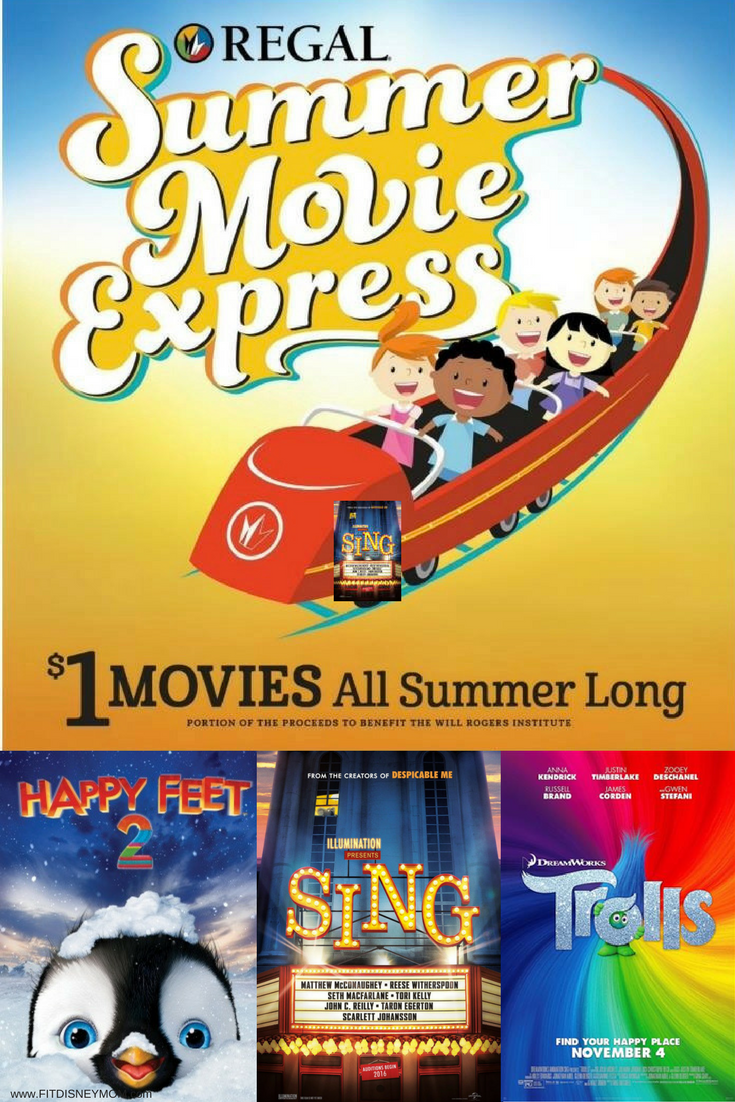 Regal Summer Movie Express, Regal Summer Express Movies Schedule, Regal Summer Express Movies, Regal $1 Movies
