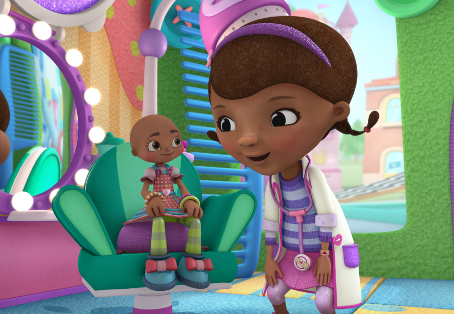 Doc McStuffins, Hannah the Brave, National Cancer Survivors Day, Childhood Cancer, Disney Jr