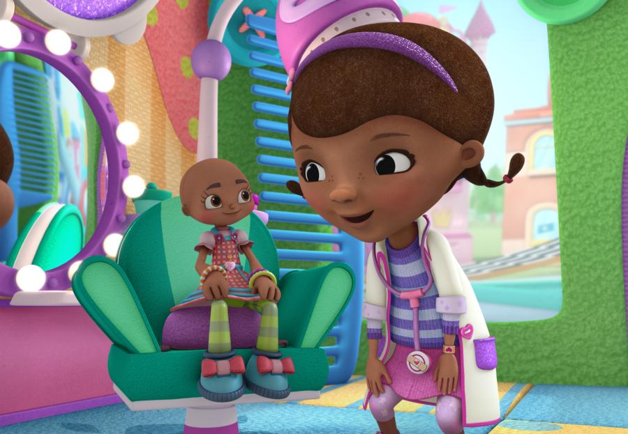Doc McStuffins, Hannah the Brave, National Cancer Survivors Day, Childhood Cancer, Disney Jr