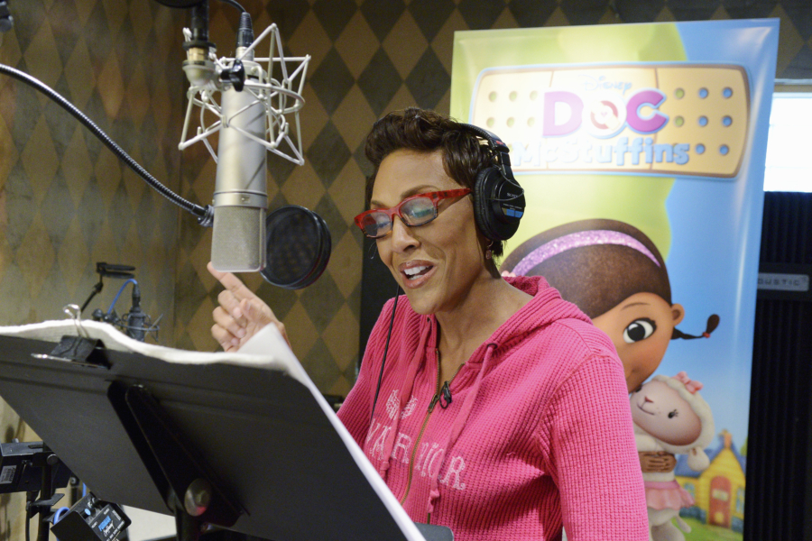 Doc McStuffins, Robin Roberts, Hannah The Brave, Disney Junior