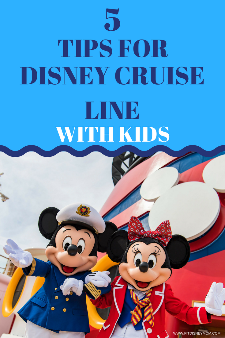 Disney Cruise Tips: 5 BEST tips for taking kids on a Disney Cruise from an expert Mom.