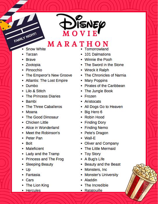 How to Plan a Movie Marathon
