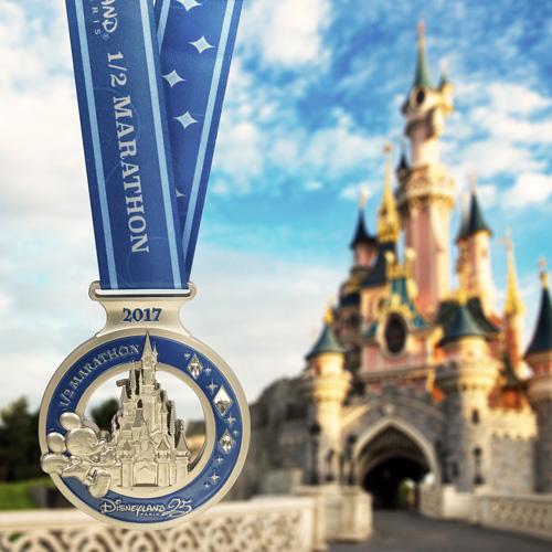 2017 Disneyland Paris Half Marathon medals, Disneyland Paris Half Marathon Medals, Disneyland Paris Half Marathon 2017, Disneyland Paris