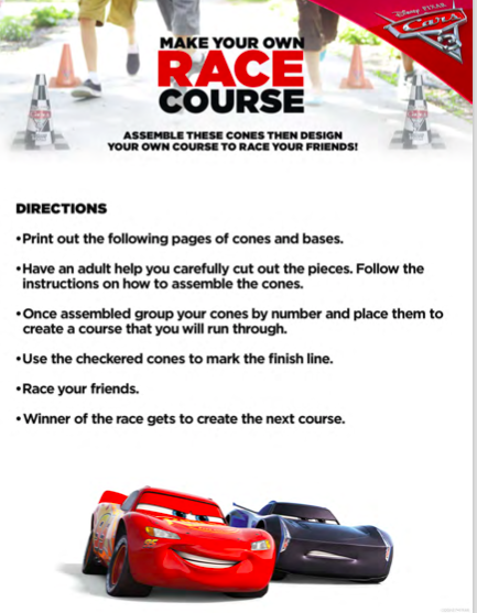 Cars 3 Activity Sheets, Cars 3 Games, Cars 3 Toys