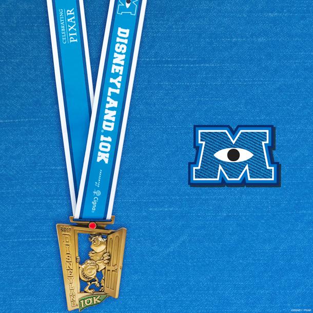 2017 Disneyland half marathon medals, run Disney, Disneyland races, run Disney medals 2017