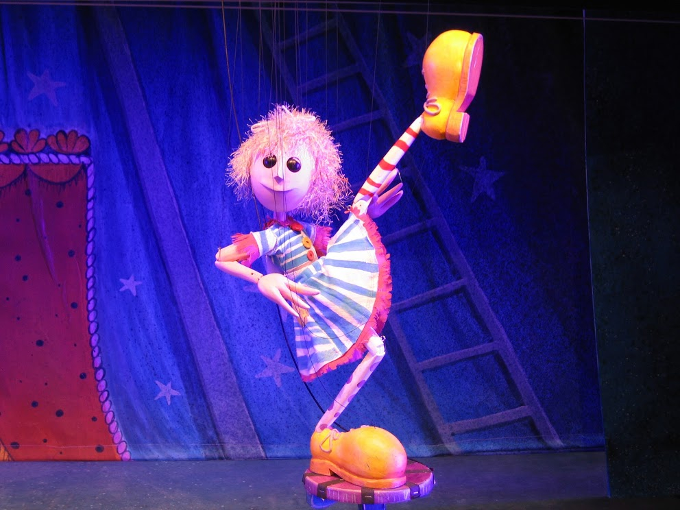 cinderella della circus, center for puppetry arts Atlanta