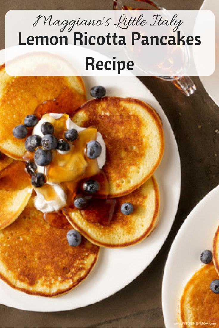 Maggianos lemon ricotta pancakes, maggianos brunch, maggianos recipes