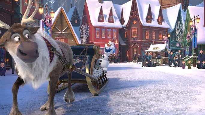 pixar and disney animation studios upcoming films, olaf's frozen adventure, frozen short film