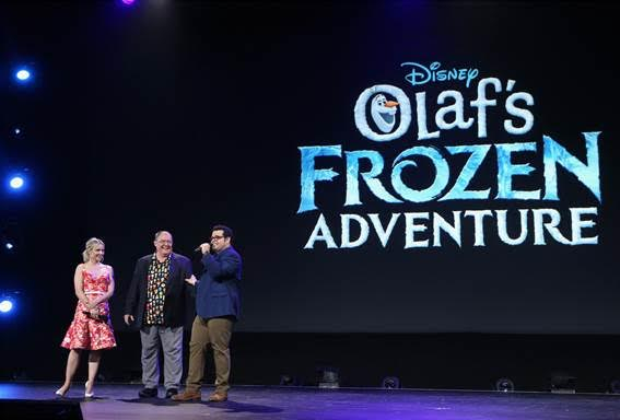 Pixar and Disney Upcoming Films, Olaf's Frozen Adventure