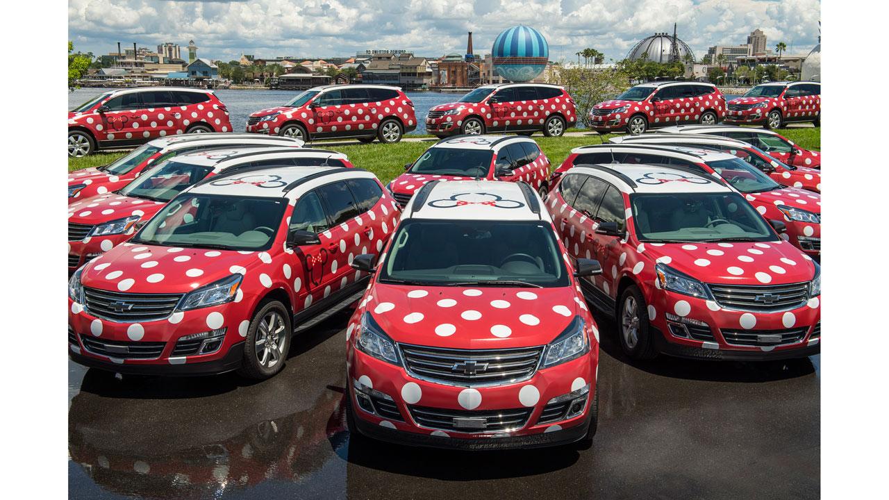Disney's Minnie Van service, Disney World Transportation, Walt Disney World Transportation