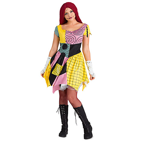 Women's Costumes, Disney Halloween Costumes, Sally Halloween Costume, Disney Adult Costumes for Halloween