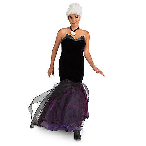 Women's Costumes, Disney Halloween Costumes, Ursula Halloween Costume, Disney Adult Costumes for Halloween