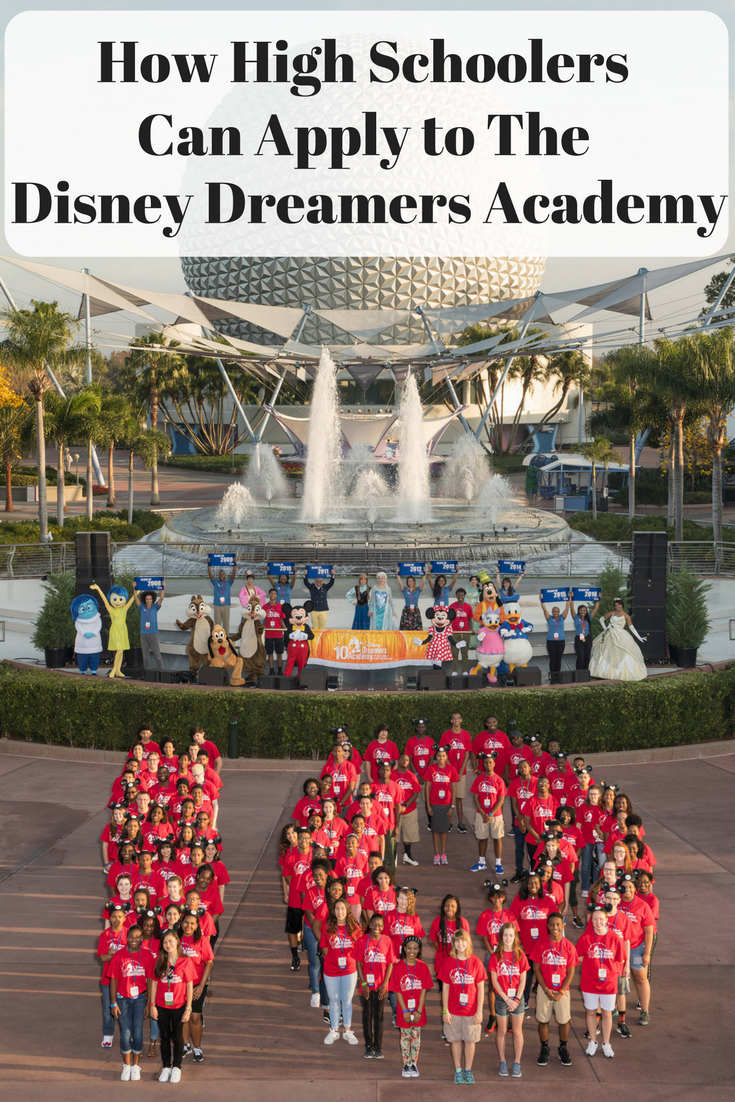 Disney Dreamers Academy, How to apply to Disney Dreamers Academy, Disney Dreamers