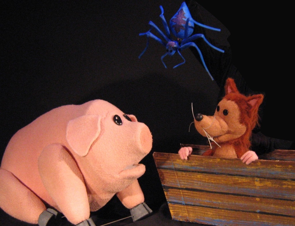 Charlottes Web, Center for Puppetry Arts, Atlanta, Charlotte's Web