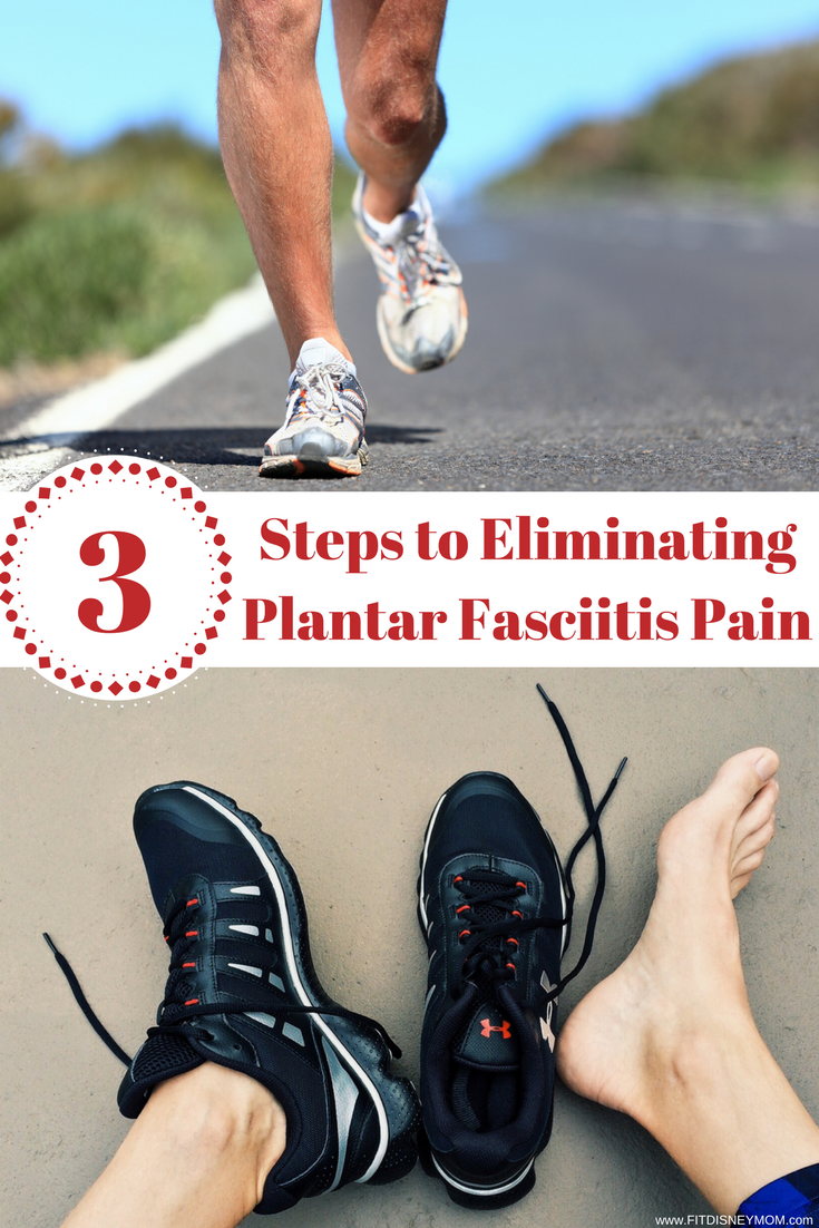 Running Tips: 3 crucial steps to take to eliminate the heel pain caused from Plantar Fasciitis.