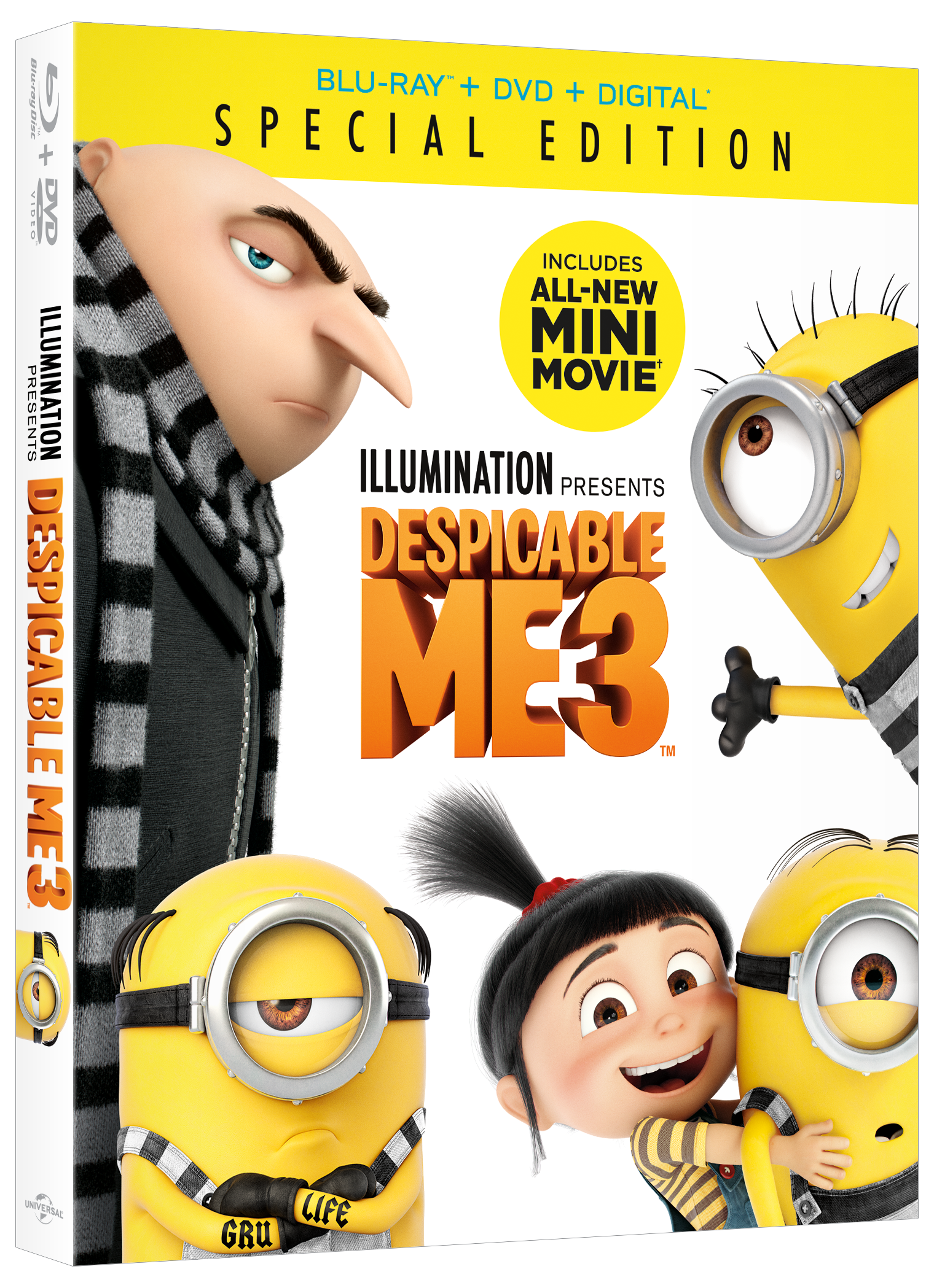 Despicable Me 3, Despicable Me 3 DVD, Despicable Me 3 Giveaway