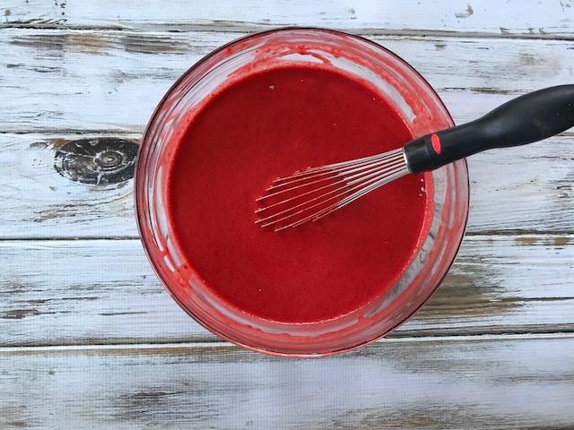 Red Velvet Mickey Waffles, Copycat Red Velvet Mickey Waffles, Disney Inspired Recipe, Breakfast Mickey Waffles, Mickey Waffles