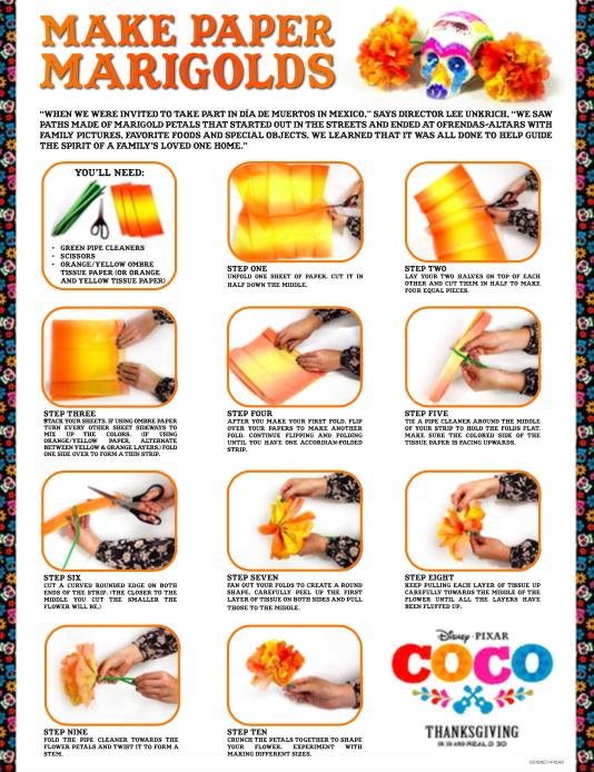 COCO Activity Sheets, COCO Movie, COCO Games