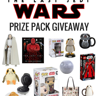Giveaway! Star Wars: The Last Jedi Prize Pack