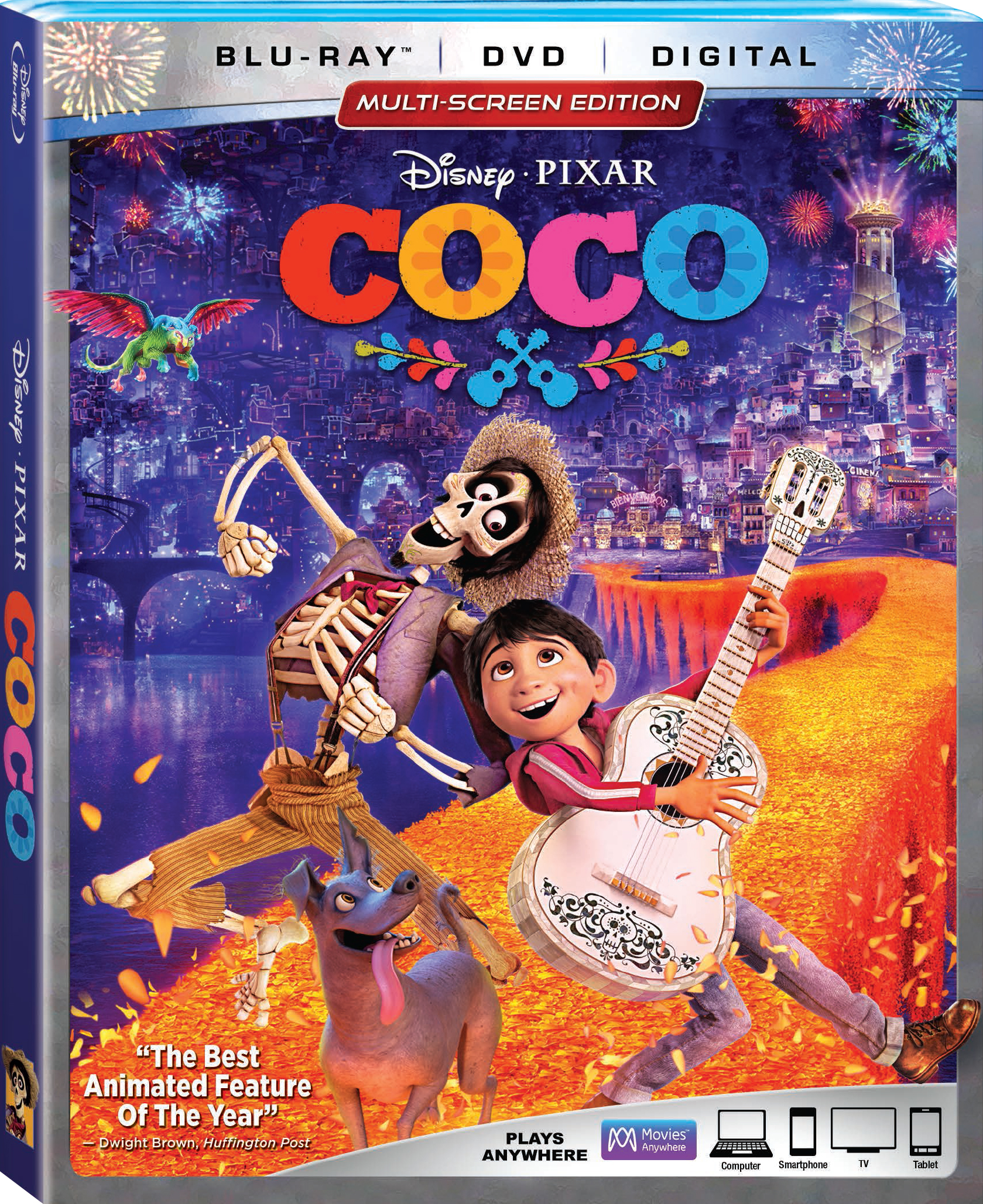 COCO Blu Ray 2018 Release Date