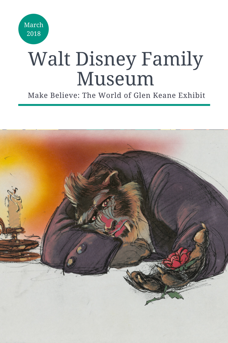 Walt Disney Family Museum, Walt Disney Family Museum, Glen Keane exhibit