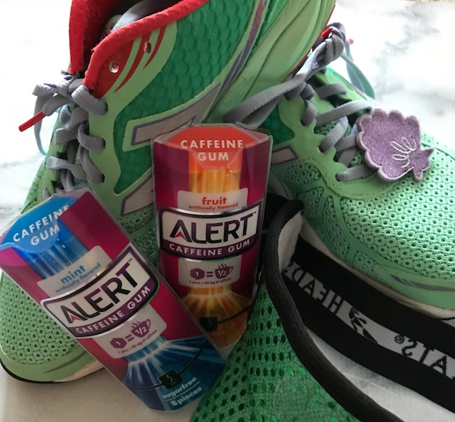 Race Day Essentials, Caffeinated Gum, Running Gear, Tips for Runners