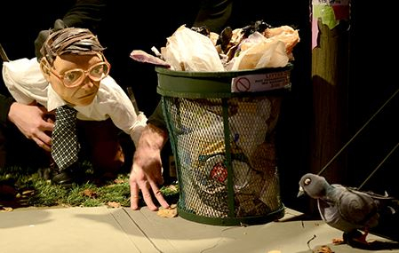 The Pigeoning, Center for Puppetry Arts