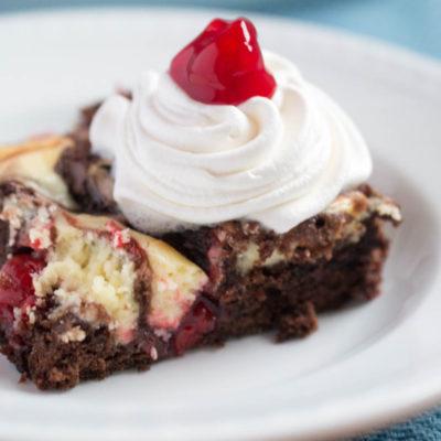 Cherry Cheesecake Brownies   Easy Dessert Recipe