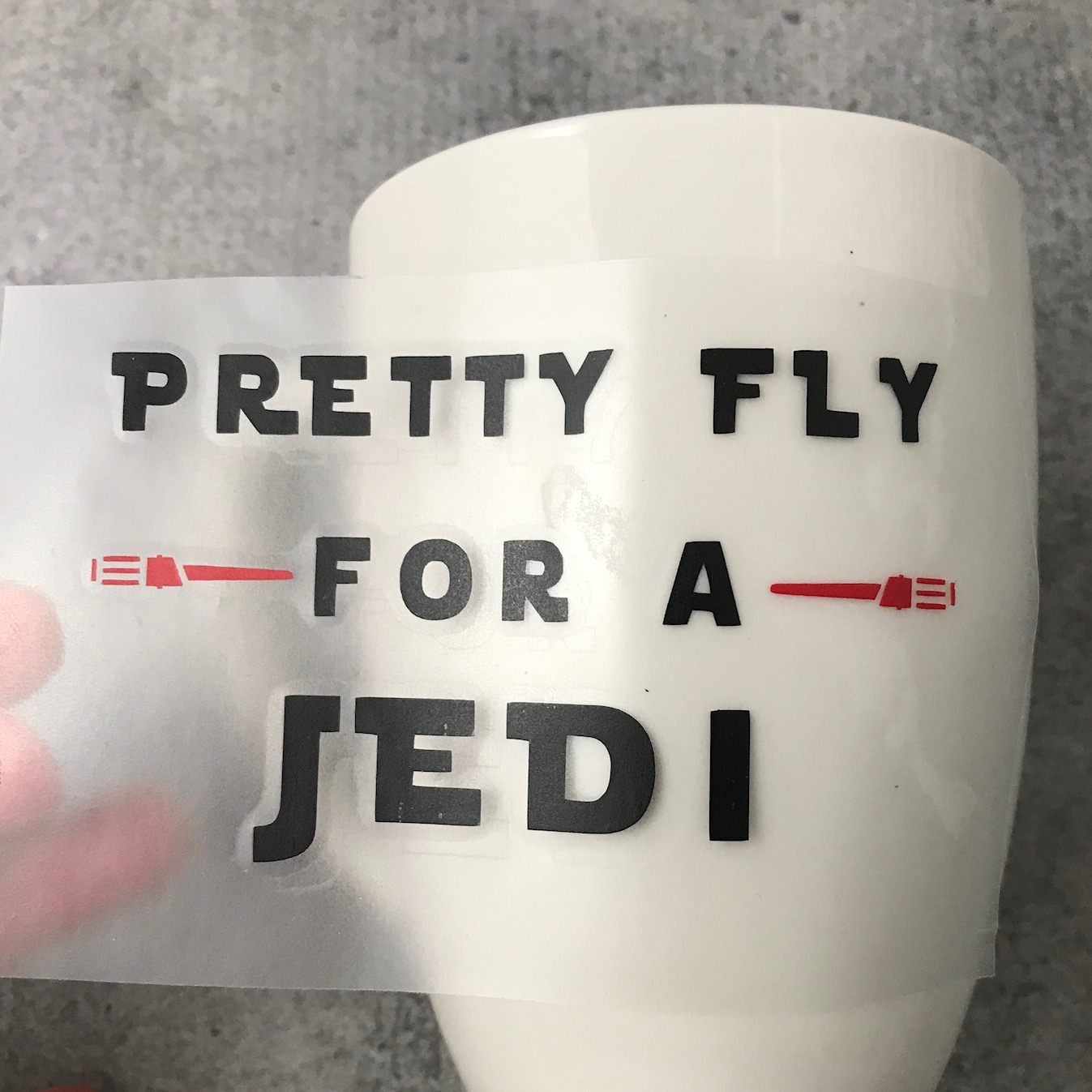 Star Wars Valentine's Day, Star Wars Valentine's Day Idea, Star Wars Mug, DIY Star Wars Mug