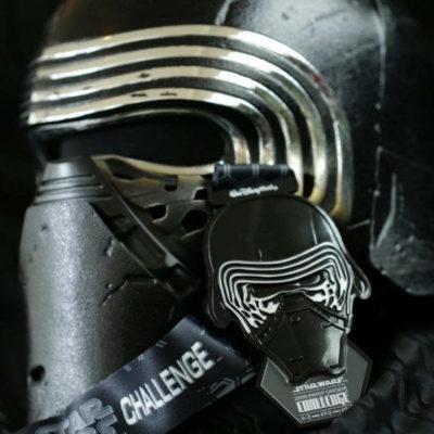 2018 Run Disney Star Wars Dark Side Medals