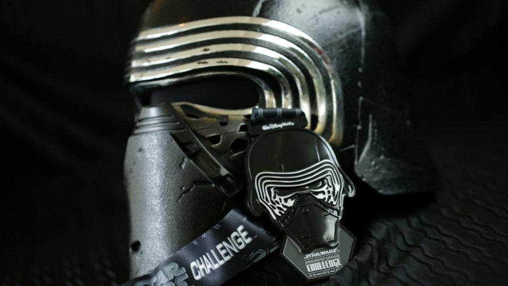 2018 Run Disney Star Wars Dark Side Medals, 2018 Run Disney Star Wars Darkside Medals, Run Disney Darkside 2018, Run Disney Star Wars Half 2018, Run Disney