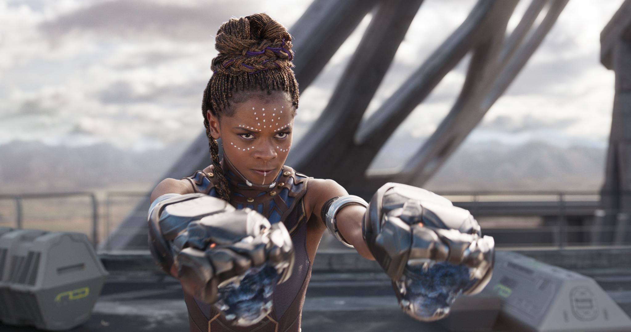 W'Kabi and Shuri, Black Panther, Black Panther Interviews, Black Panther Movie
