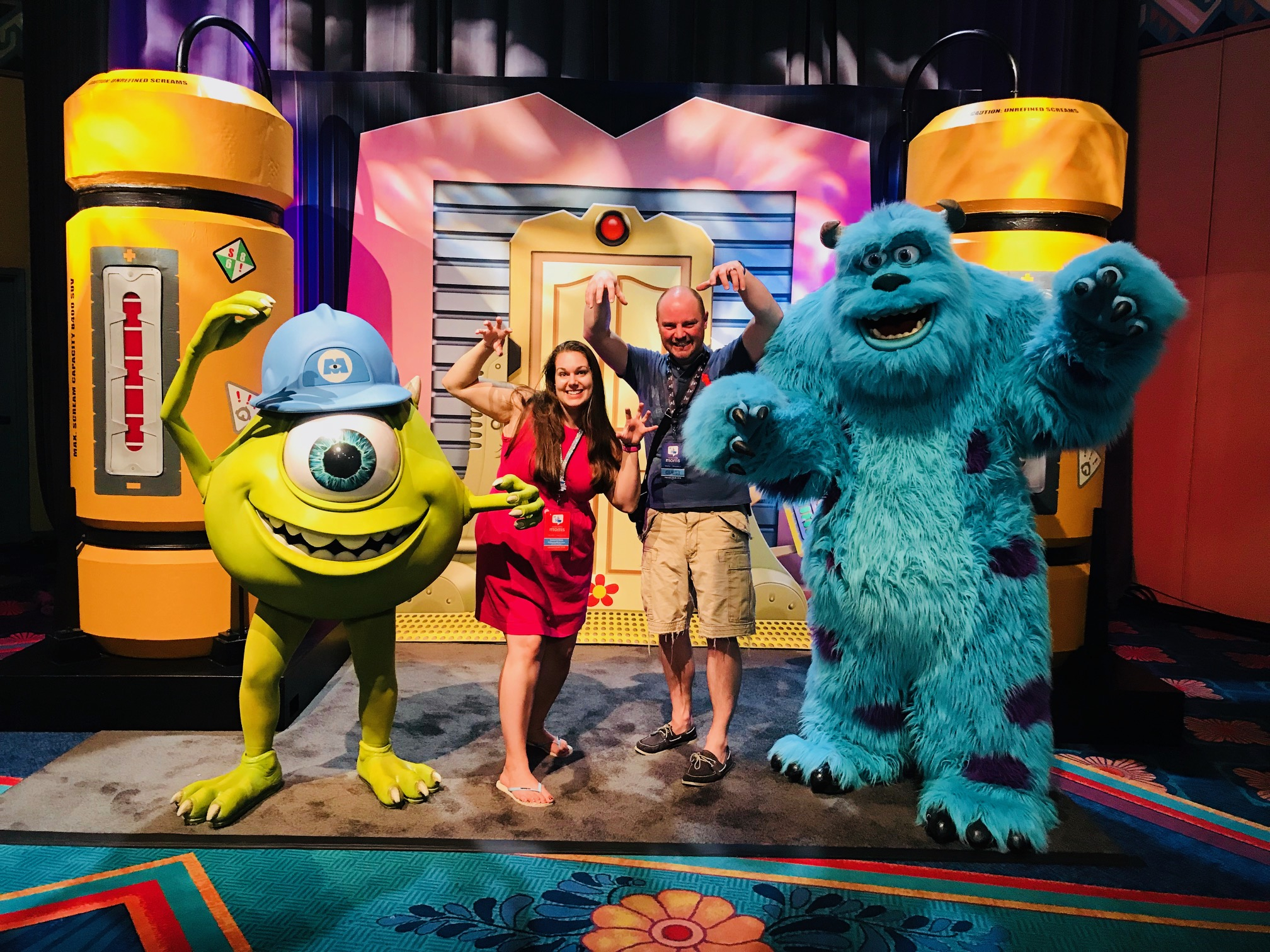 2018 Disney Social Media Moms Celebration, Pixar, Disney Pixar, Monster Inc