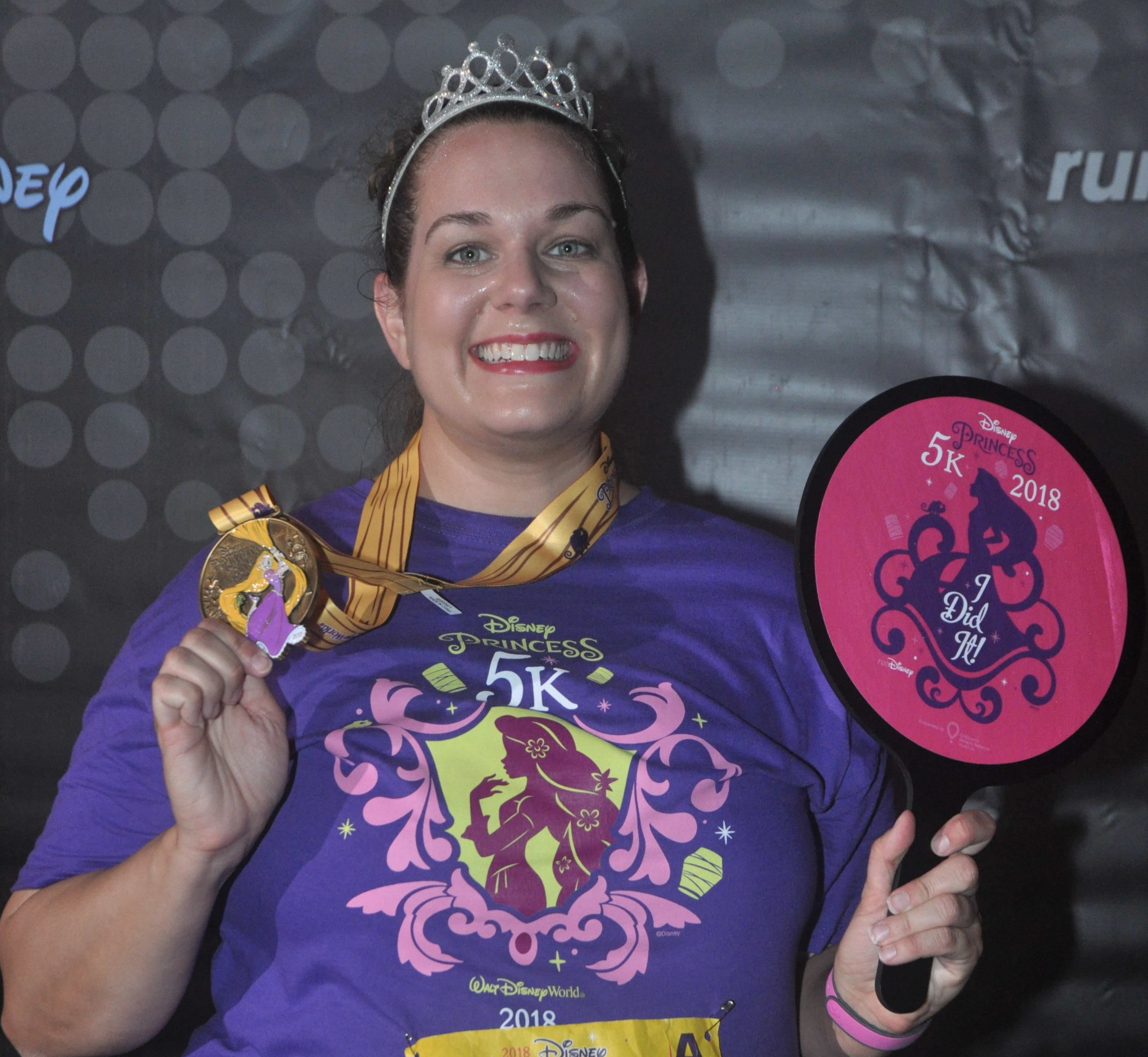 2018 Disney Social Media Moms Celebration, Run Disney Princess 5k