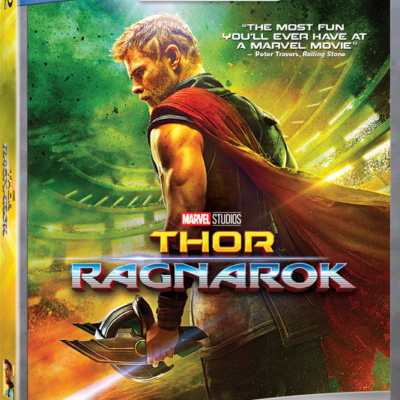 Bring Home the God of Thunder! Thor: Ragnarok Blu-Ray